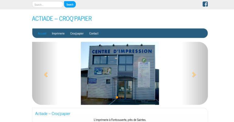 Croq'Papier - Imprimerie Actiade
